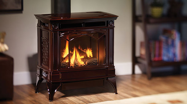 H35 Large Gas Stove Ambassador Fireplaces