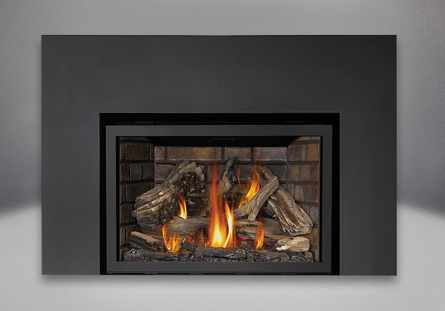 Infrared x4 xir4 ambassador fireplaces for Fireplace insert options