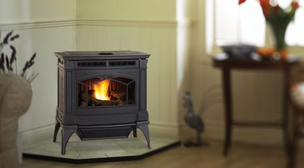 Gc60 Large Pellet Stove Ambassador Fireplaces
