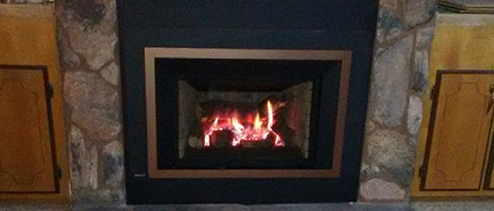 Wood Fireplace To Gas Insert Ambassador Fireplaces